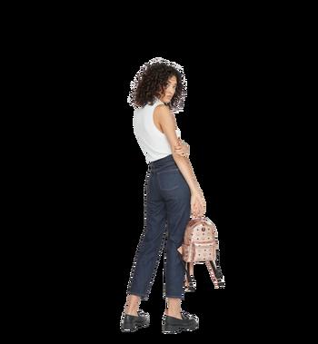 MCM Stark Side Studs Backpack in Visetos Alternate View 8
