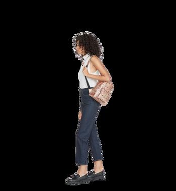 MCM Stark Side Studs Backpack in Visetos Alternate View 10