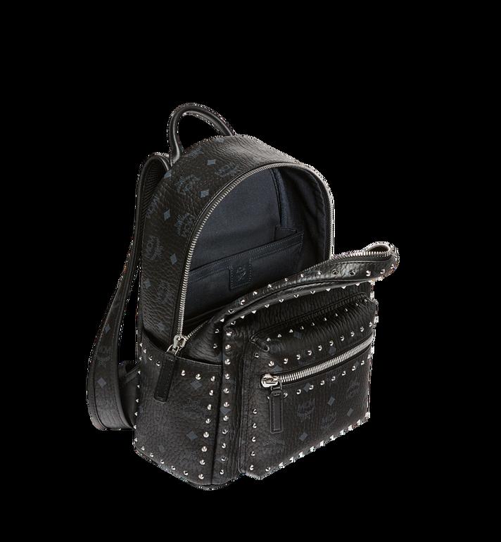 MCM Stark Backpack in Studded Outline Visetos Black MMK8AVE61BK001 Alternate View 5