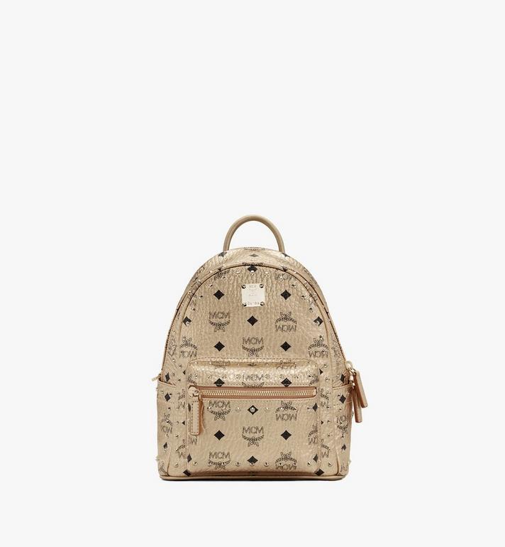 MCM Stark Backpack in Studded Visetos Alternate View