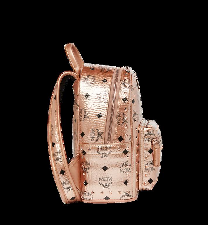 MCM Stark Backpack in Studded Outline Visetos Gold MMK8AVE66TC001 Alternate View 3