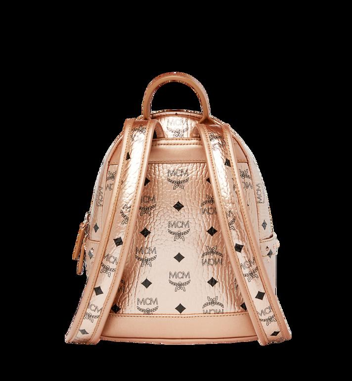 MCM Stark Backpack in Studded Outline Visetos Gold MMK8AVE66TC001 Alternate View 4