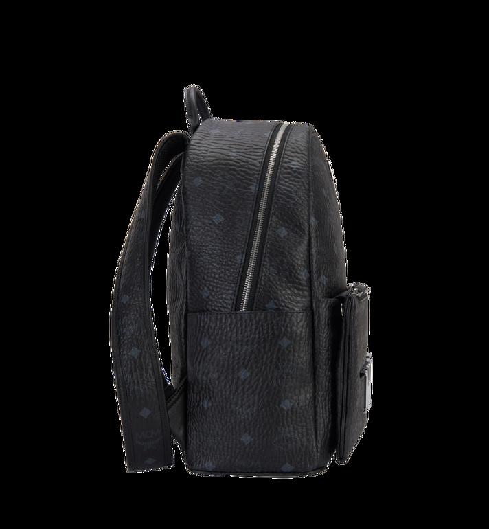 MCM Trilogie Stark Backpack in Visetos Black MMK8AVE72BK001 Alternate View 3