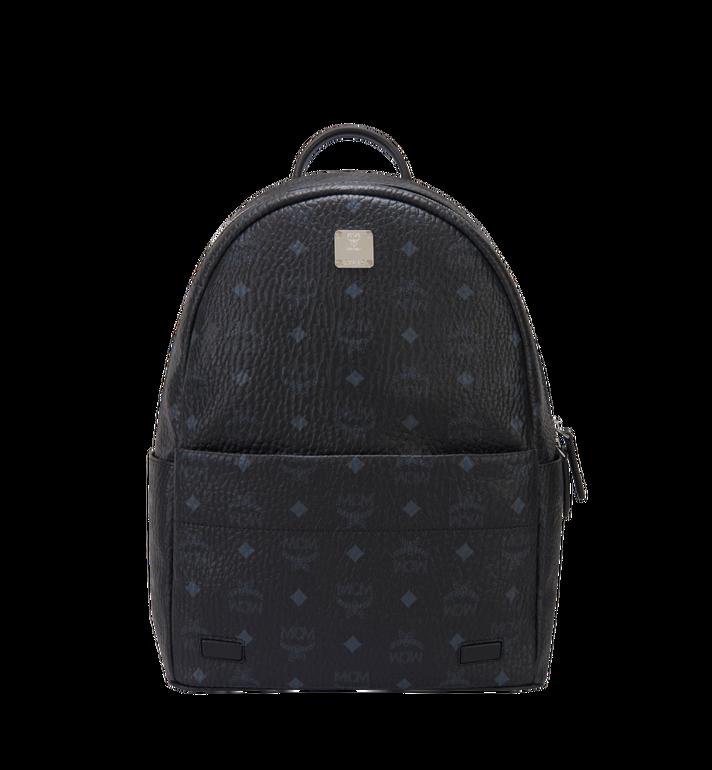 MCM Trilogie Stark Backpack in Visetos Black MMK8AVE72BK001 Alternate View 5