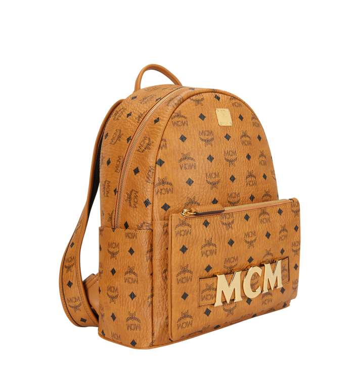 MCM Trilogie Stark Backpack in Visetos Alternate View 2