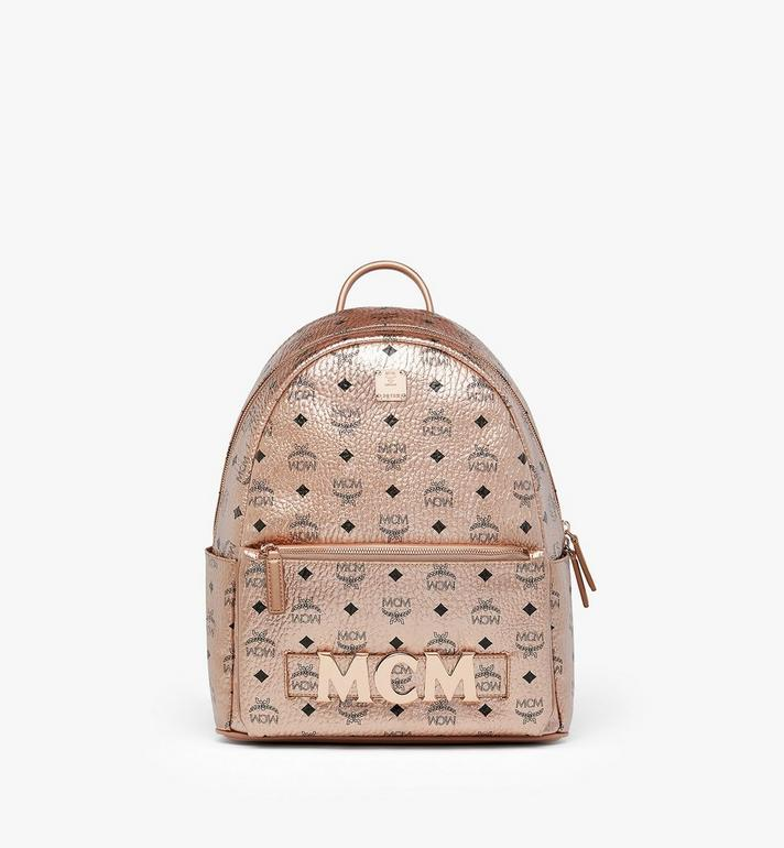 MCM Trilogie Stark Backpack in Visetos Alternate View