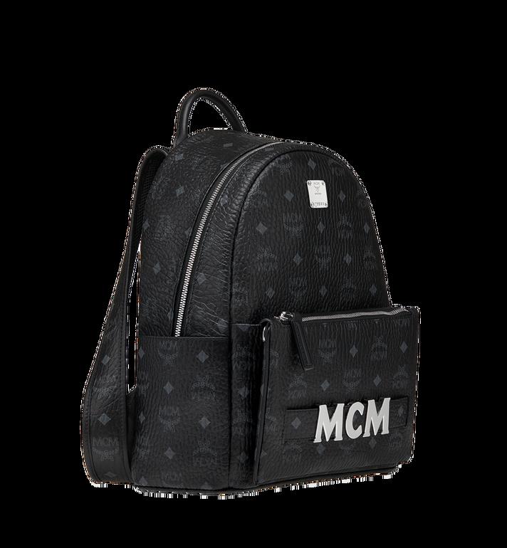 MCM Trilogie Stark Backpack in Visetos  MMK8AVE83BK001 Alternate View 3