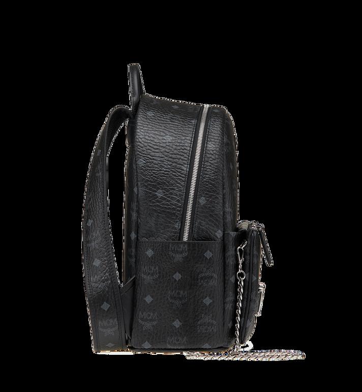 MCM Trilogie Stark Backpack in Visetos  MMK8AVE83BK001 Alternate View 4