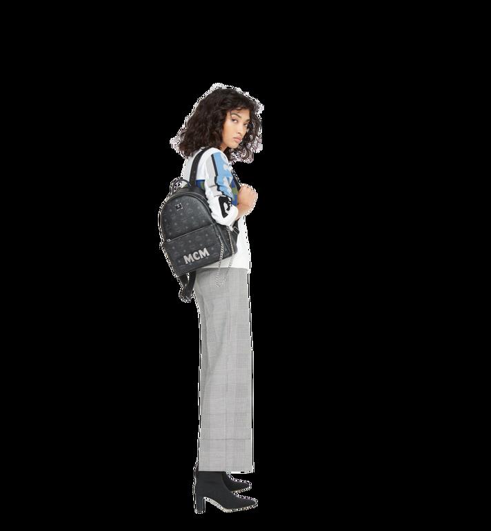MCM Trilogie Stark Backpack in Visetos  MMK8AVE83BK001 Alternate View 12
