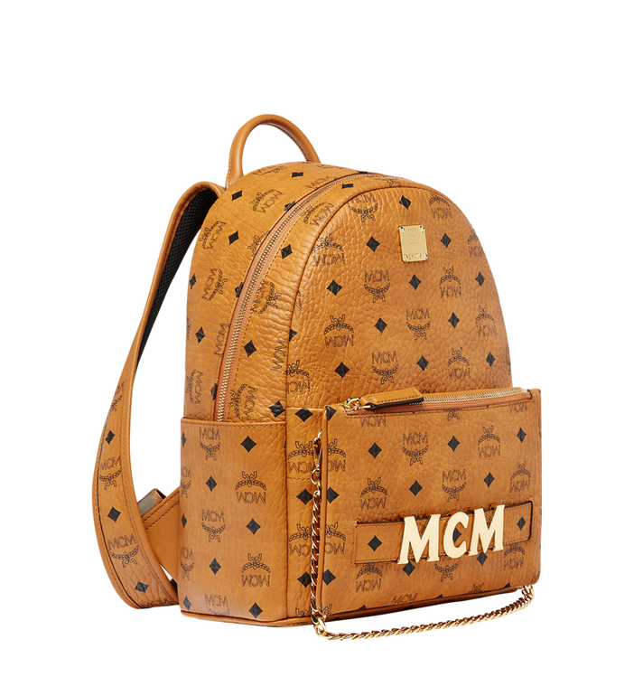 MCM Trilogie Stark Rucksack in Visetos Alternate View 2