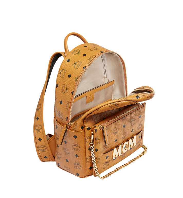 MCM Trilogie Stark Rucksack in Visetos Alternate View 7