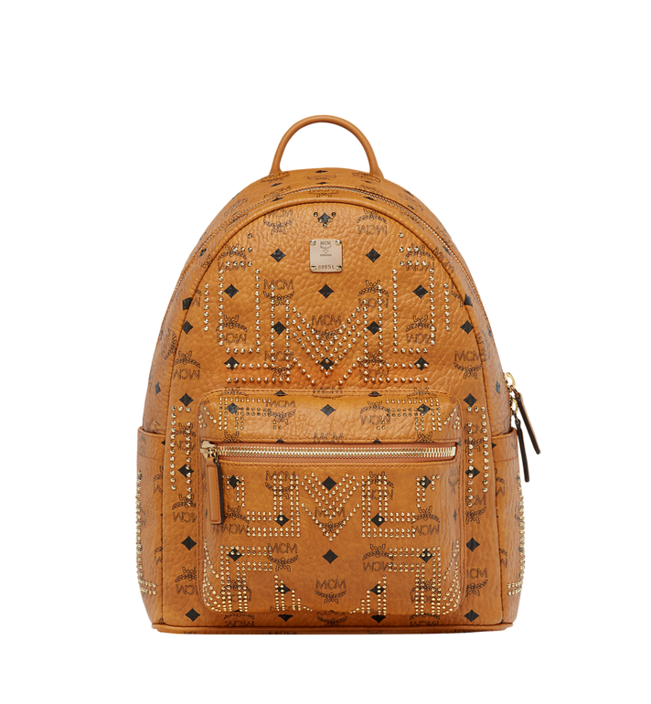 MCM Stark Rucksack in Gunta M Studs Visetos Alternate View