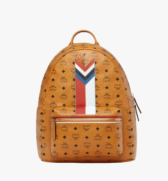 Stark Chevron Stripe Backpack in Visetos