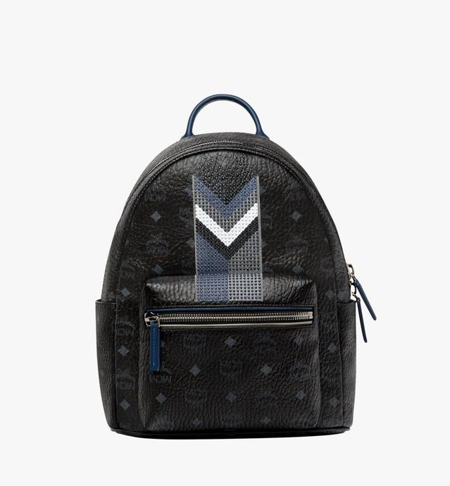 Stark Chevron Stripe Backpack in Visetos