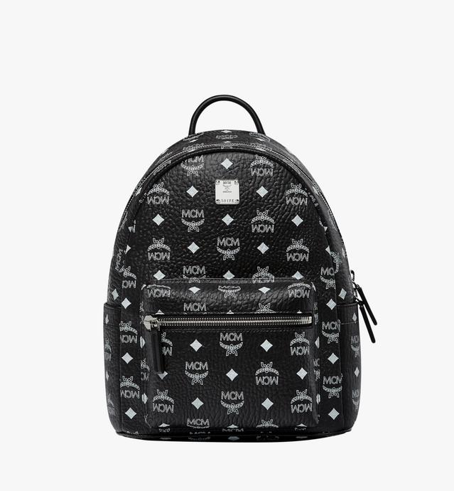 Stark White Logo Backpack in Visetos