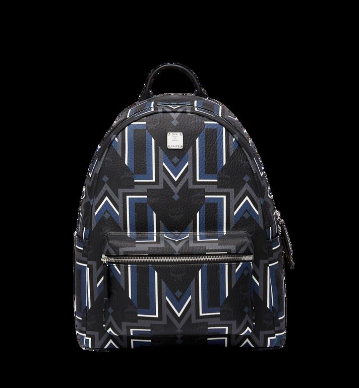 MCM Stark Gunta M Stripe Backpack in Visetos Alternate View