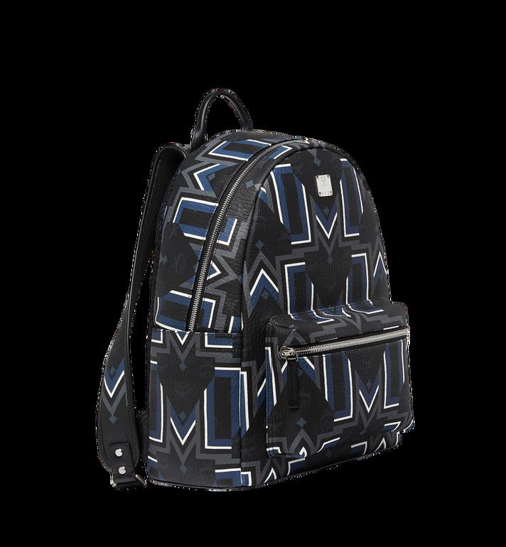 MCM Stark Gunta M Stripe Backpack in Visetos Alternate View 2