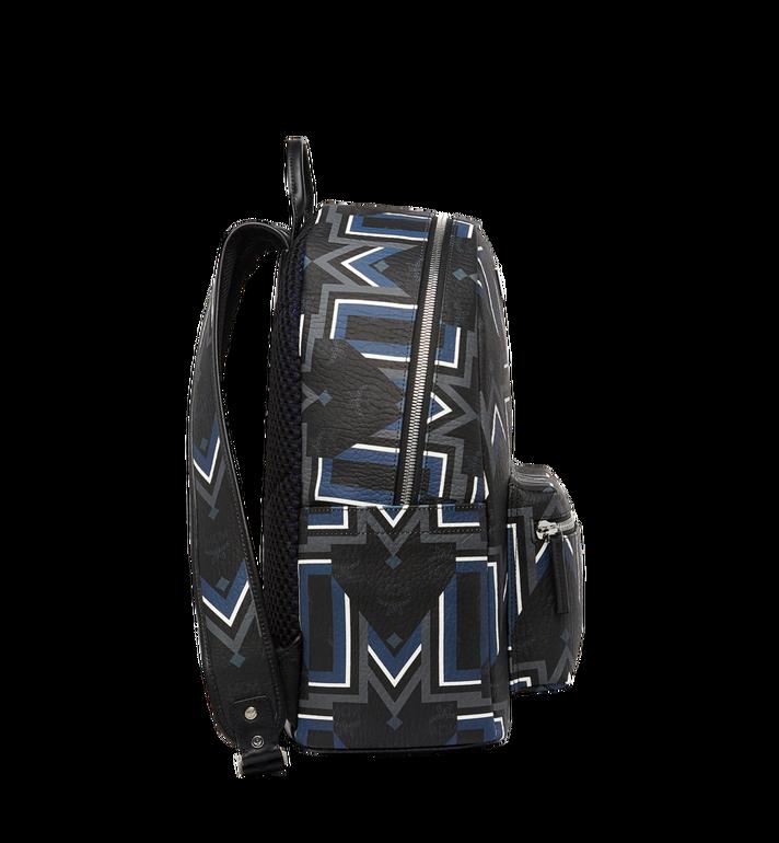 MCM Stark Gunta M Stripe Backpack in Visetos Alternate View 3