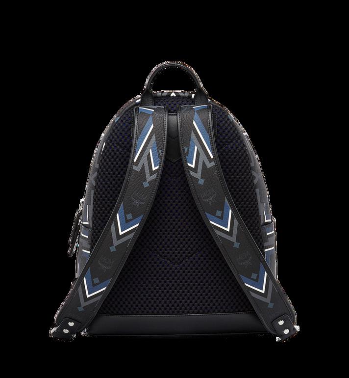 MCM Stark Gunta M Stripe Backpack in Visetos Alternate View 4