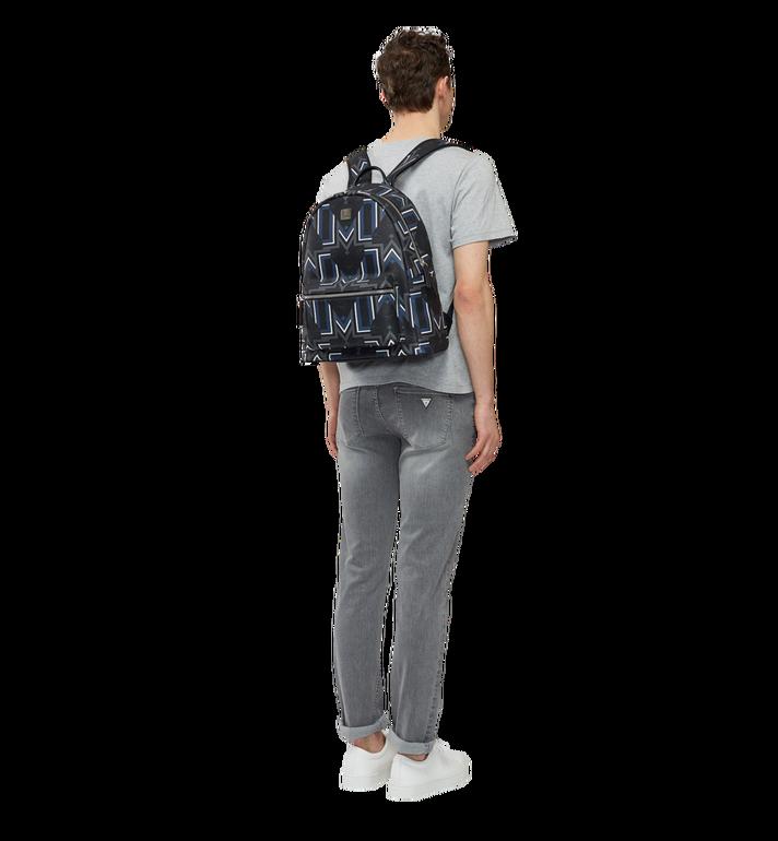 MCM Stark Gunta M Stripe Backpack in Visetos Alternate View 6