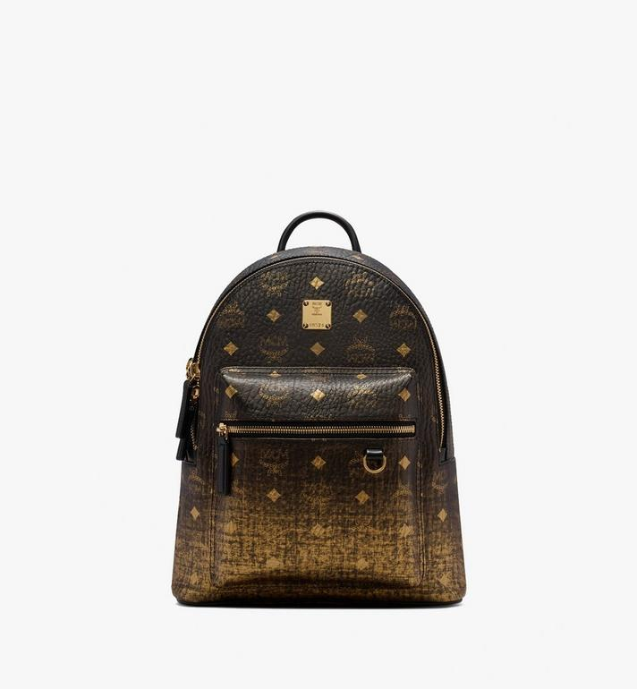 MCM Stark Backpack in Gradation Visetos Gold MMK9AVE18DG001 Alternate View 1