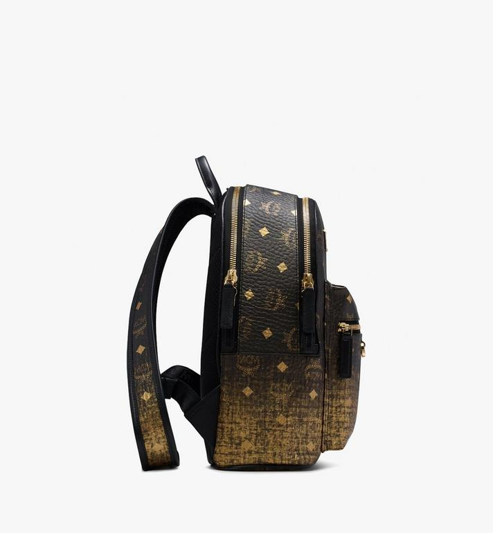 MCM Stark Backpack in Gradation Visetos Gold MMK9AVE18DG001 Alternate View 2
