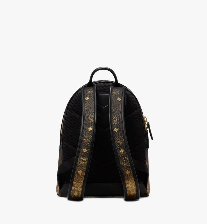 MCM Stark Backpack in Gradation Visetos Gold MMK9AVE18DG001 Alternate View 3