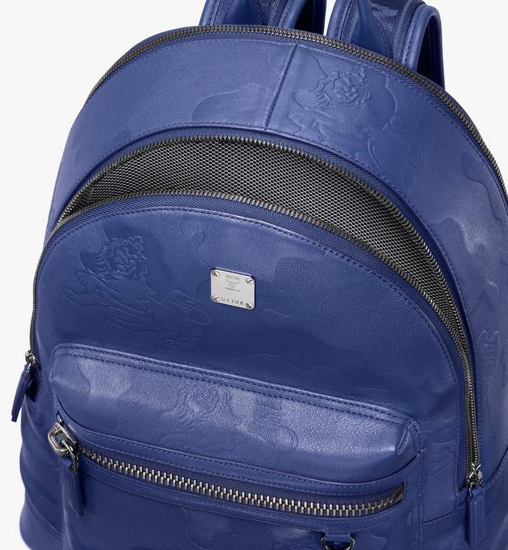 MCM Stark Backpack in Embossed Lion Camo  MMK9AVE29VE001 Alternate View 4