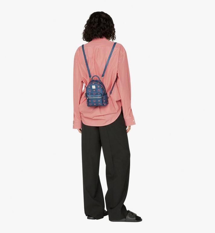 MCM Stark Bebe Boo Backpack in Visetos  MMK9AVE33VS001 Alternate View 5