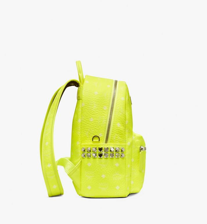 MCM Stark Backpack in Neon Visetos  MMK9AVE56YN001 Alternate View 2
