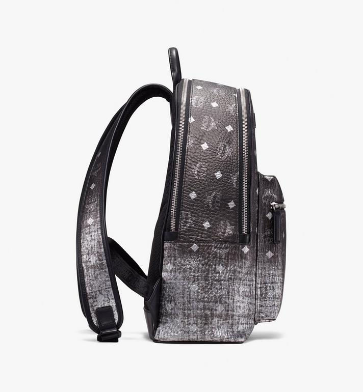 MCM Stark Backpack in Gradation Visetos Silver MMK9AVE79SV001 Alternate View 2