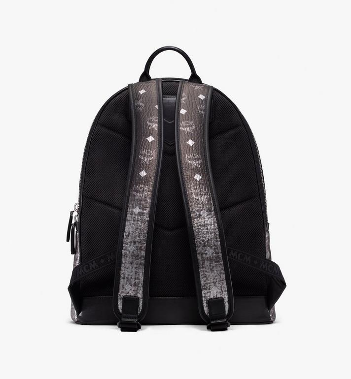MCM Stark Backpack in Gradation Visetos Silver MMK9AVE79SV001 Alternate View 3