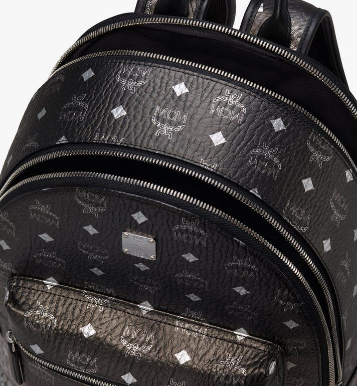 MCM Stark Backpack in Gradation Visetos Silver MMK9AVE79SV001 Alternate View 4