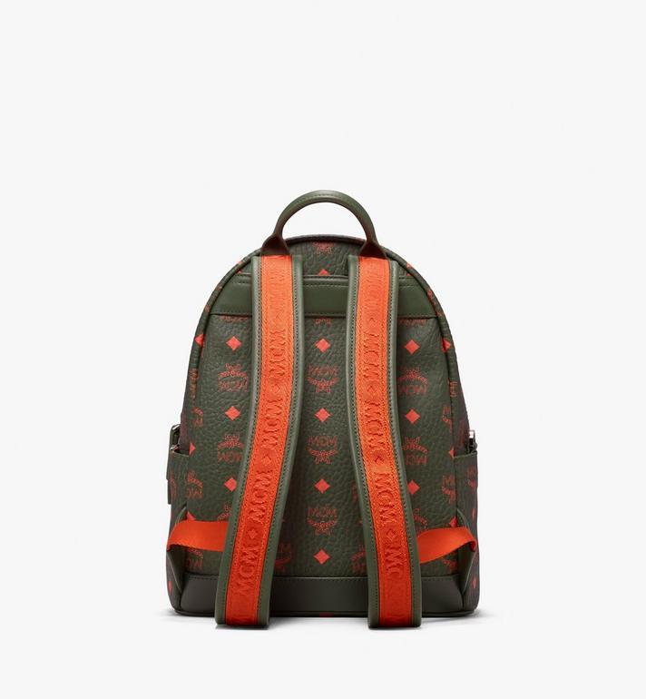MCM Stark Backpack in Visetos Green MMK9AVE97G8001 Alternate View 3