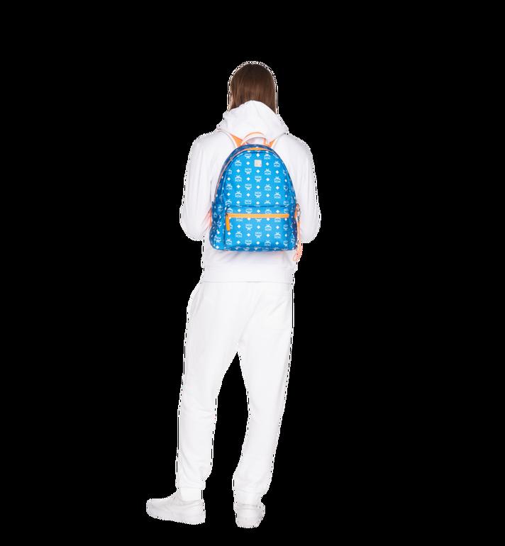 MCM Sac à dos Resnick en nylon à logo blanc Alternate View 6