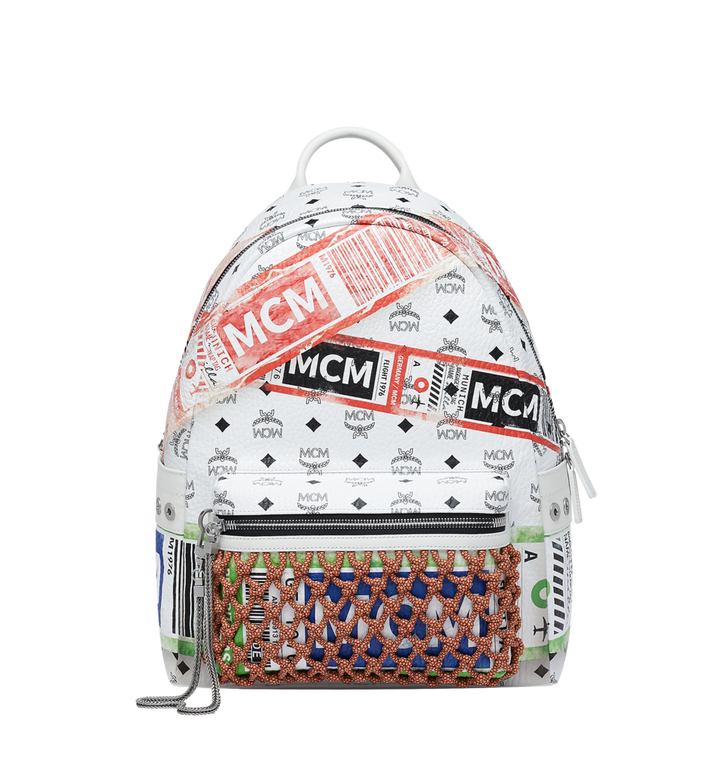 MCM Stark Backpack in Flight Print Visetos Alternate View