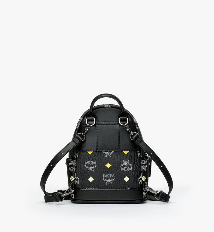 MCM Stark Bebe Boo Rucksack in Skyoptic Stud Visetos Alternate View 3
