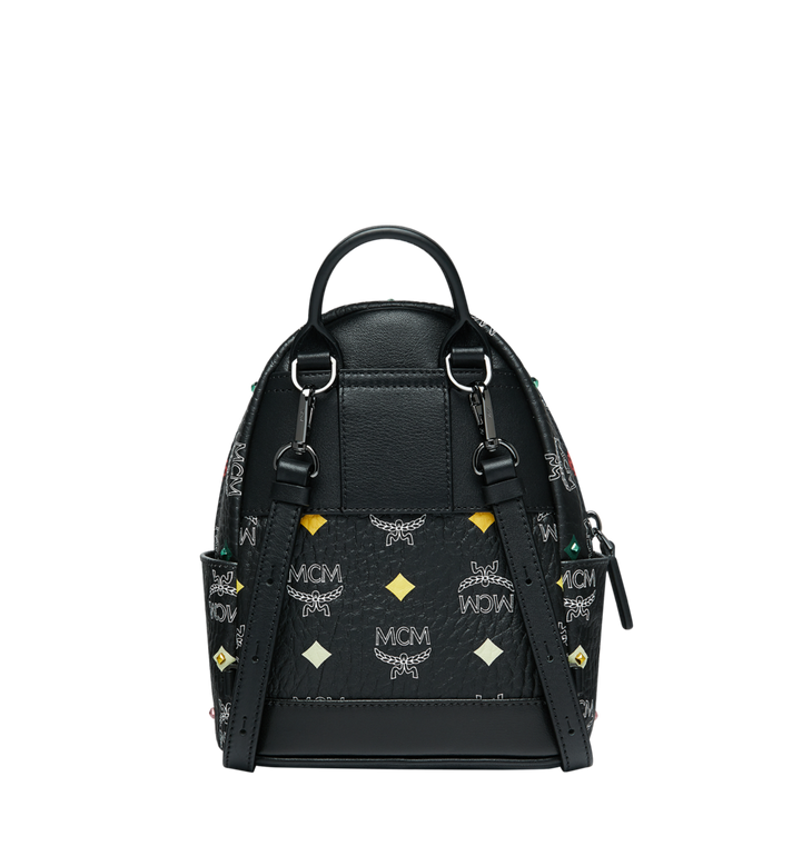 MCM Stark Bebe Boo Rucksack in Skyoptic Stud Visetos Alternate View 5