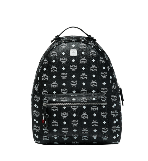 Stark Backpack in White Logo Visetos
