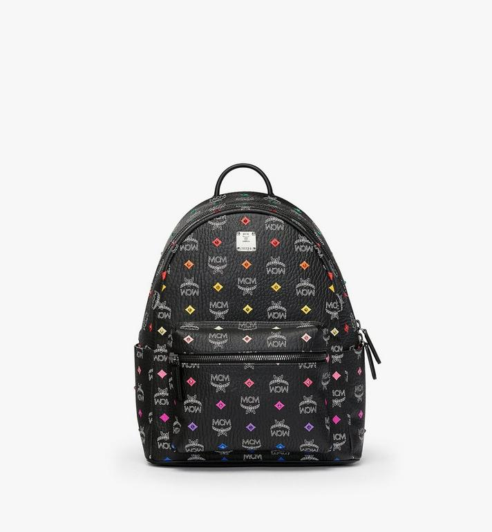 MCM Stark Rucksack in Skyoptic Stud Visetos Alternate View