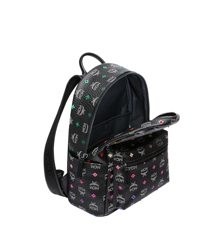MCM Stark Rucksack in Skyoptic Stud Visetos Alternate View 5