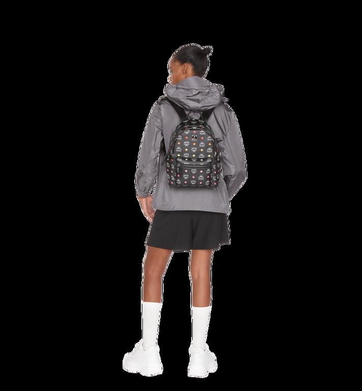 MCM Stark Backpack in Skyoptic Visetos Alternate View 7