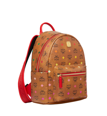 MCM Stark Rucksack in Skyoptic Visetos Alternate View 2