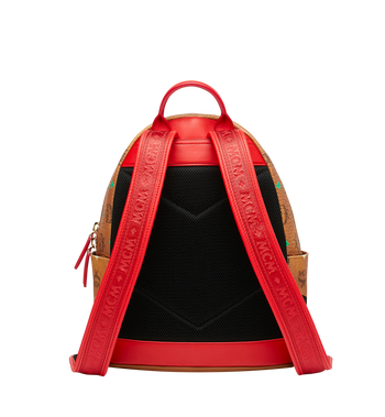 MCM Stark Rucksack in Skyoptic Visetos Alternate View 4