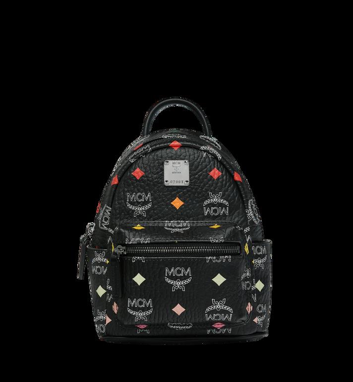 MCM Stark Bebe Boo Backpack in Skyoptic Visetos Alternate View