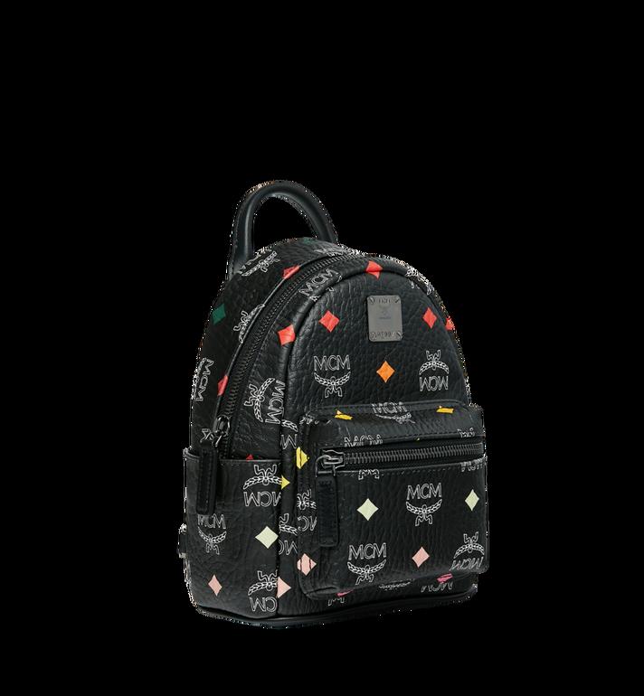 MCM Stark Bebe Boo Backpack in Skyoptic Visetos Alternate View 2