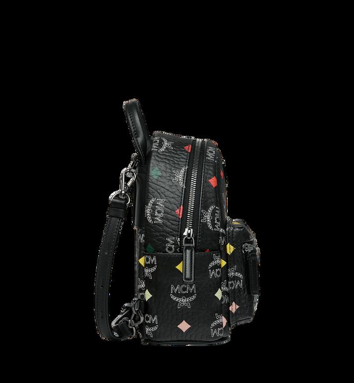 MCM Stark Bebe Boo Backpack in Skyoptic Visetos Alternate View 3