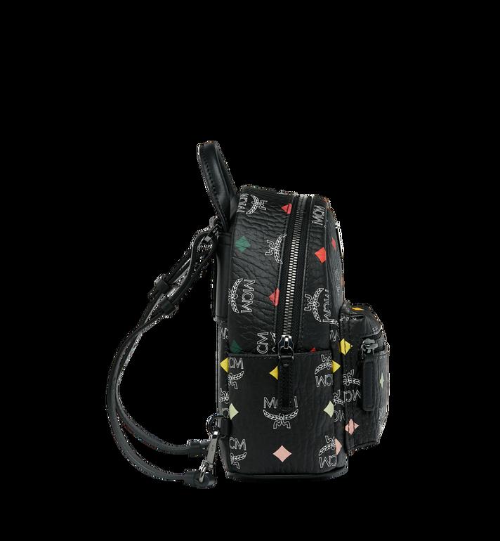 MCM Stark Bebe Boo Backpack in Skyoptic Visetos Alternate View 4