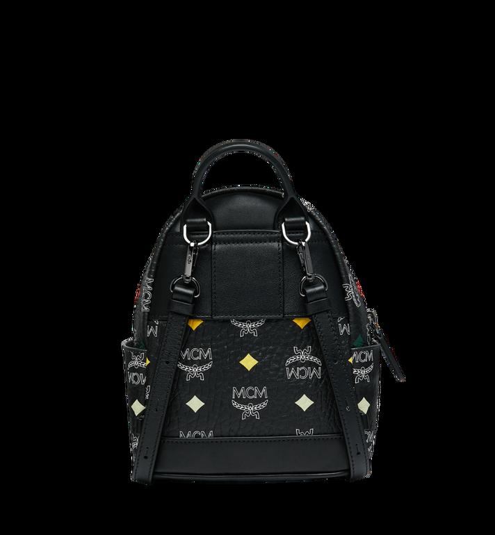 MCM Stark Bebe Boo Backpack in Skyoptic Visetos Alternate View 5