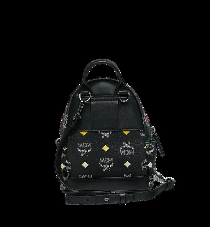 MCM Stark Bebe Boo Backpack in Skyoptic Visetos Alternate View 6